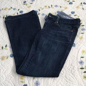 Gap Long & Lean Jeans Dark Wash 27/4R